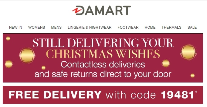 Damart coupon code: 19481