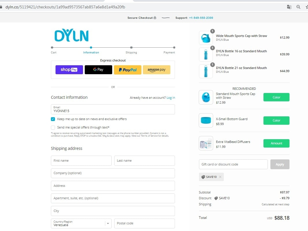 DYLN Inspired coupon code: SAVE10